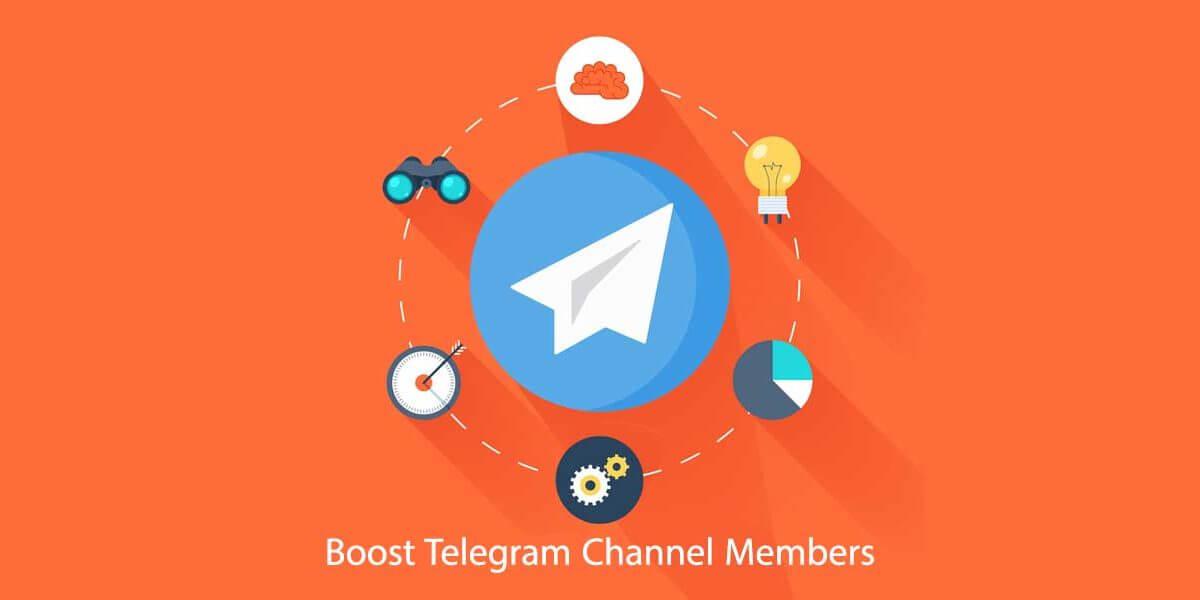 Boost Telegram Channel Members
