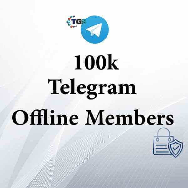 100k Telegram offline members