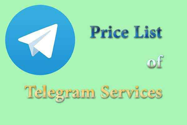 Telegram service price