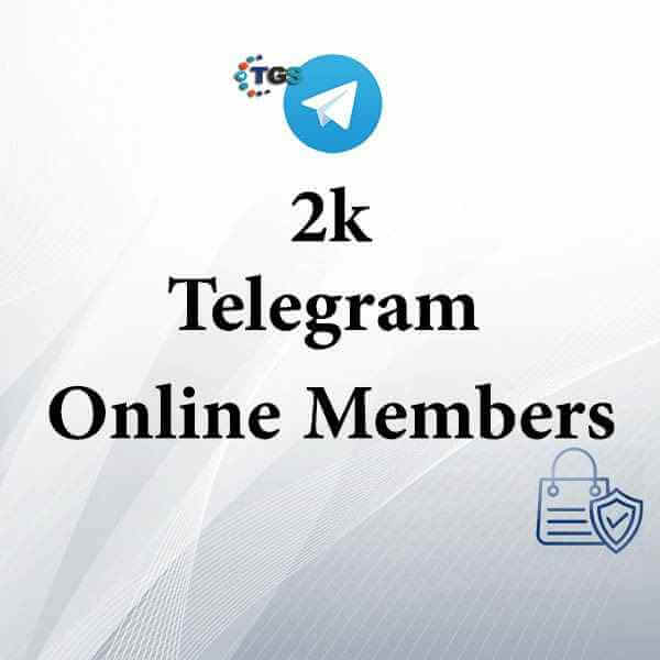 2k active Telegram members