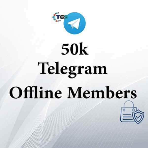 50k Telegram offline members