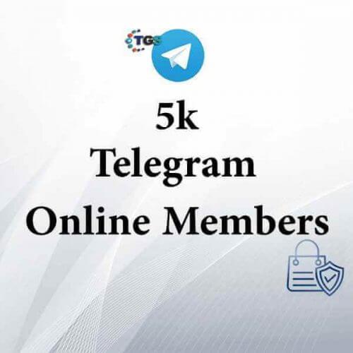 5k active Telegram members