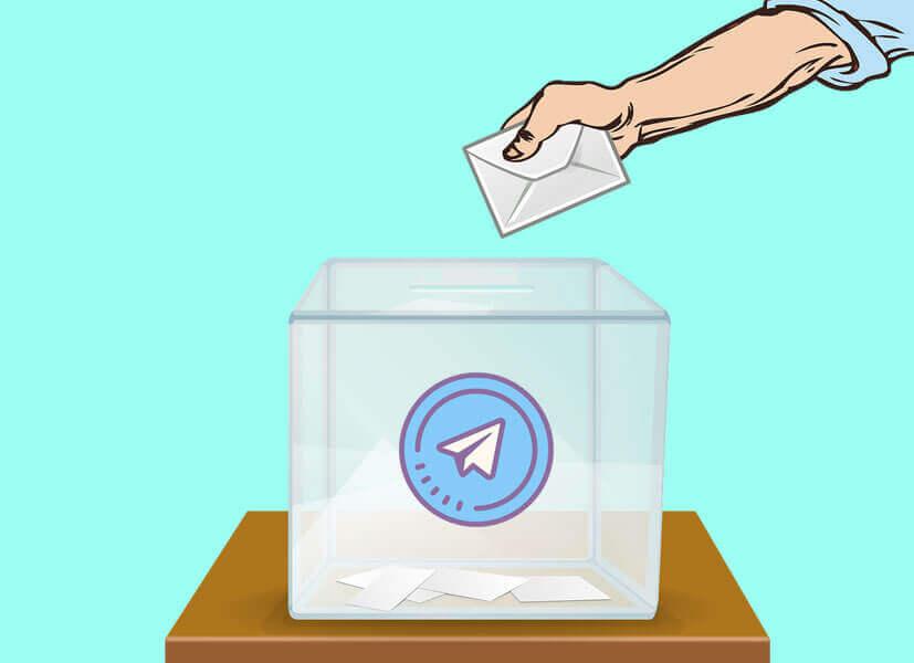 Increase votes on Telegram