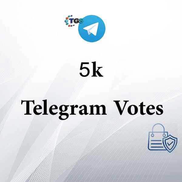 5k Telegram votes