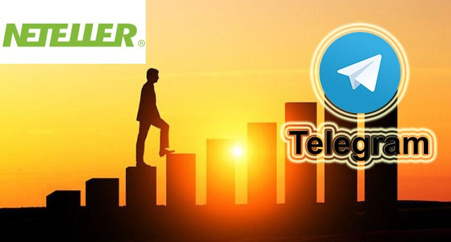 Buy Telegram members with Neteller