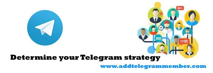 Determine-your-Telegram-strategy