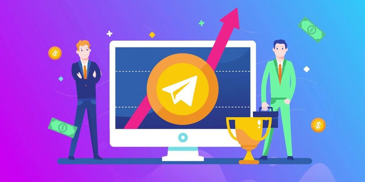 Increase active Telegram members