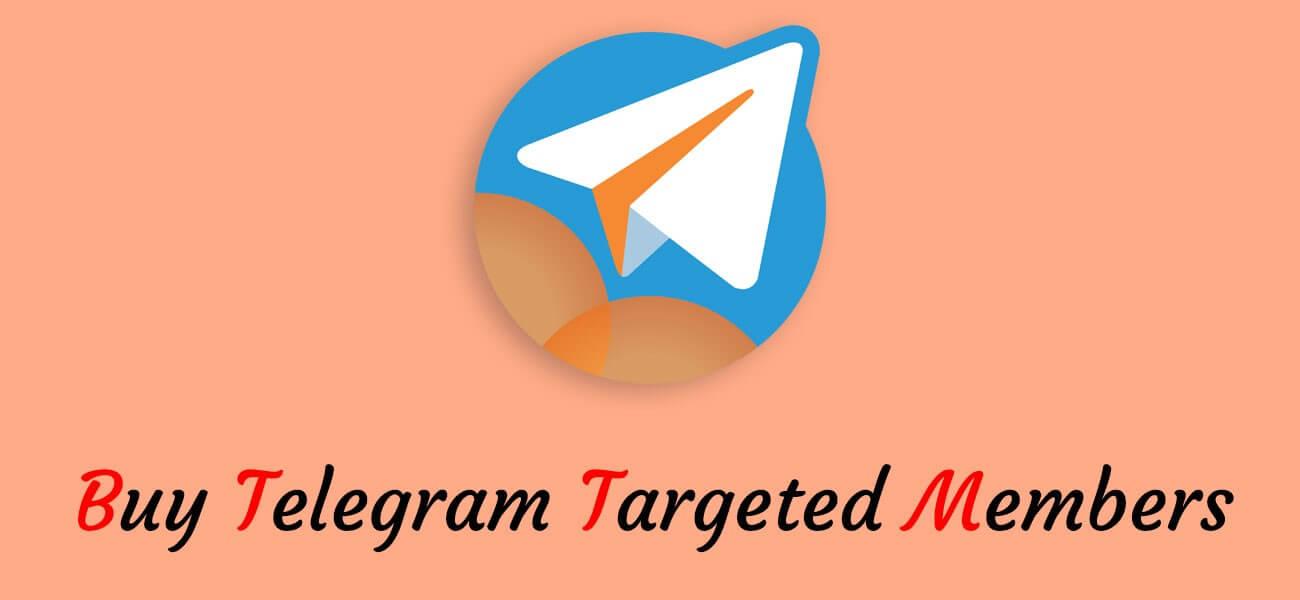 buy Telegram targeted members