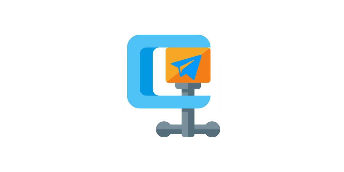reduce images size Telegram